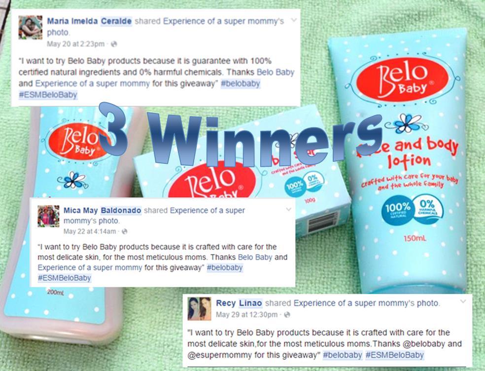 Belo-Baby-Giveaway winners