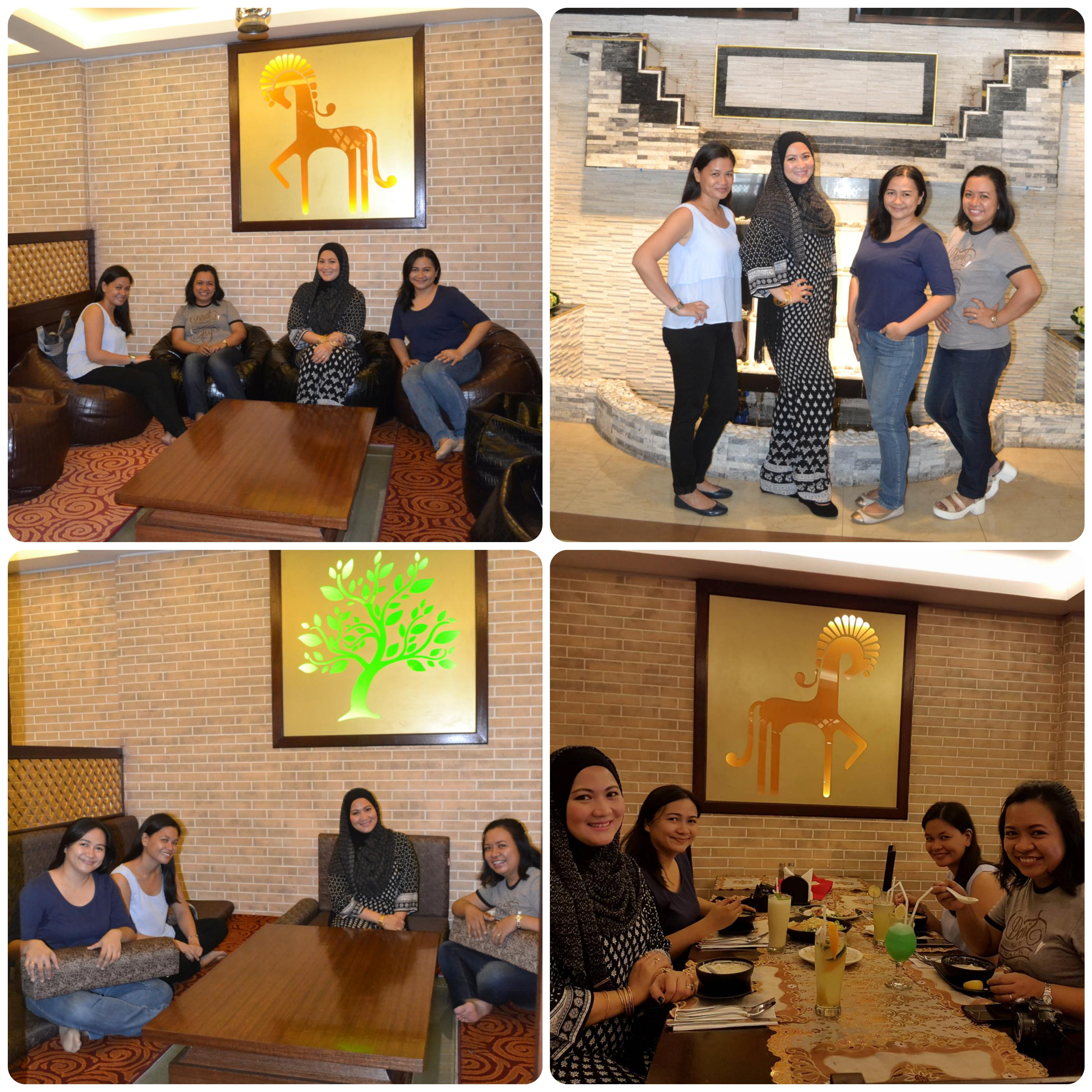 Mommy-bloggers-with Al Qaysar-restaurant-owner