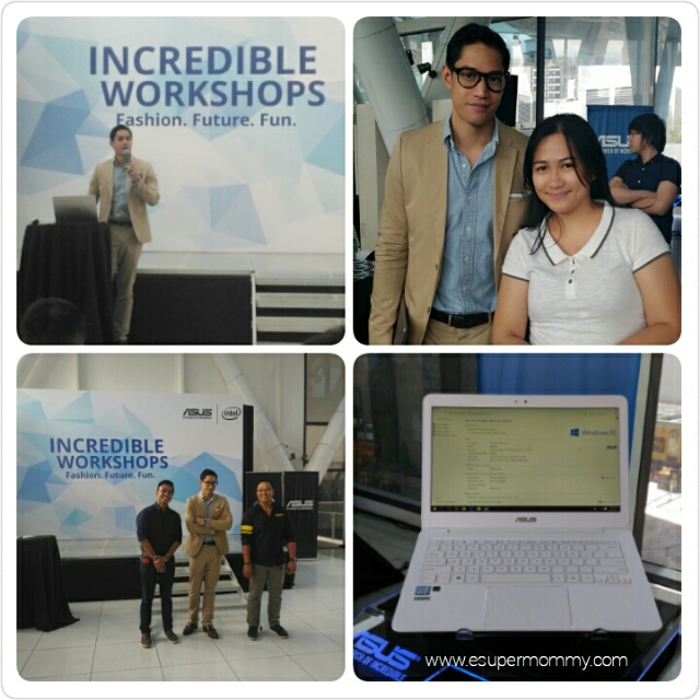 Mr. Victor Basa as the guest speaker for ASUS Incredible Workshops