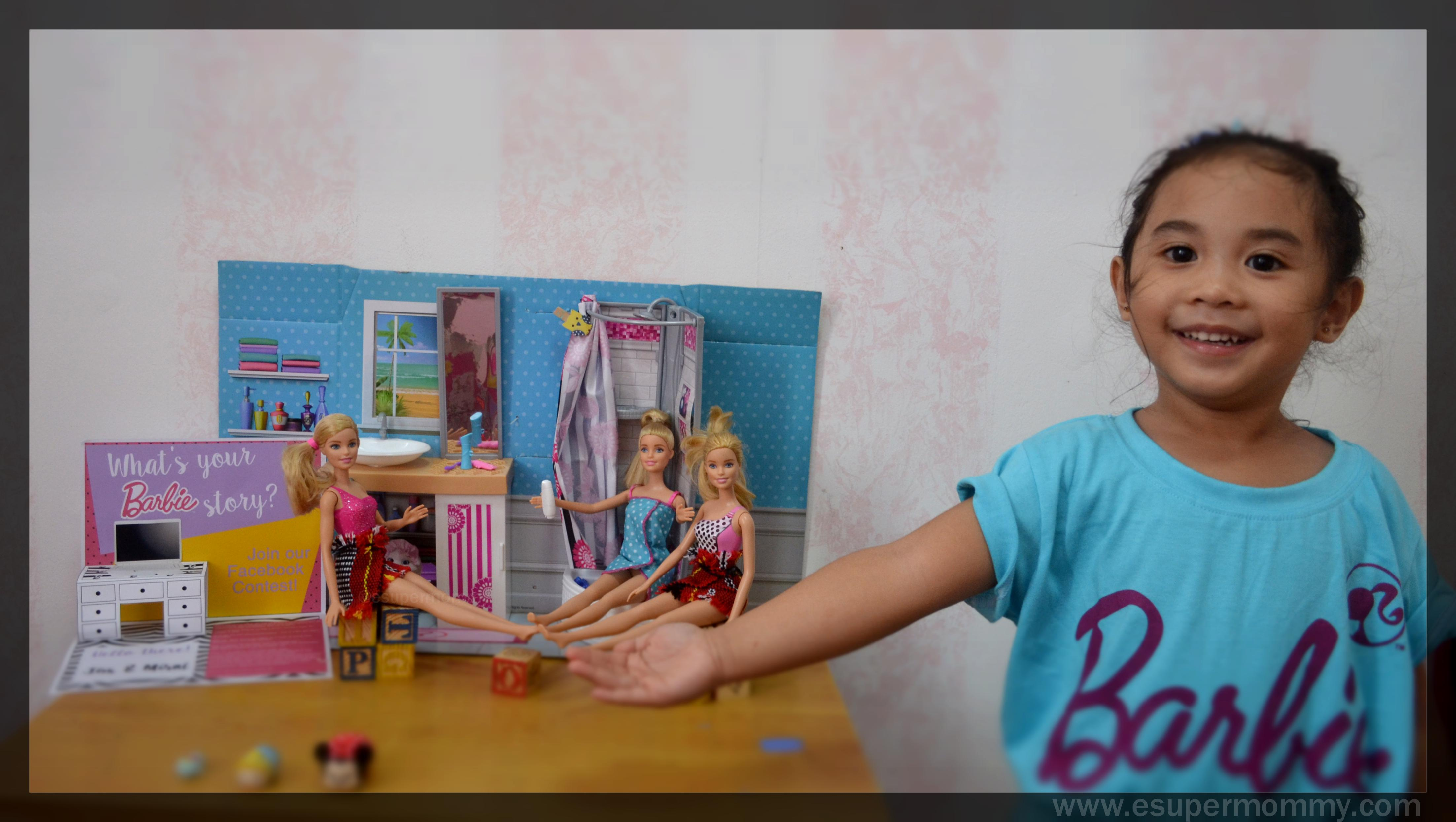 #MyBarbieStory with my daughter Mirai