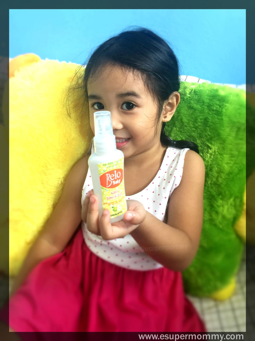 Belo Baby Sanitizers Details