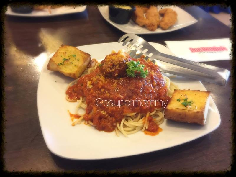 Don Henrico's Spaghetti-meat-balls