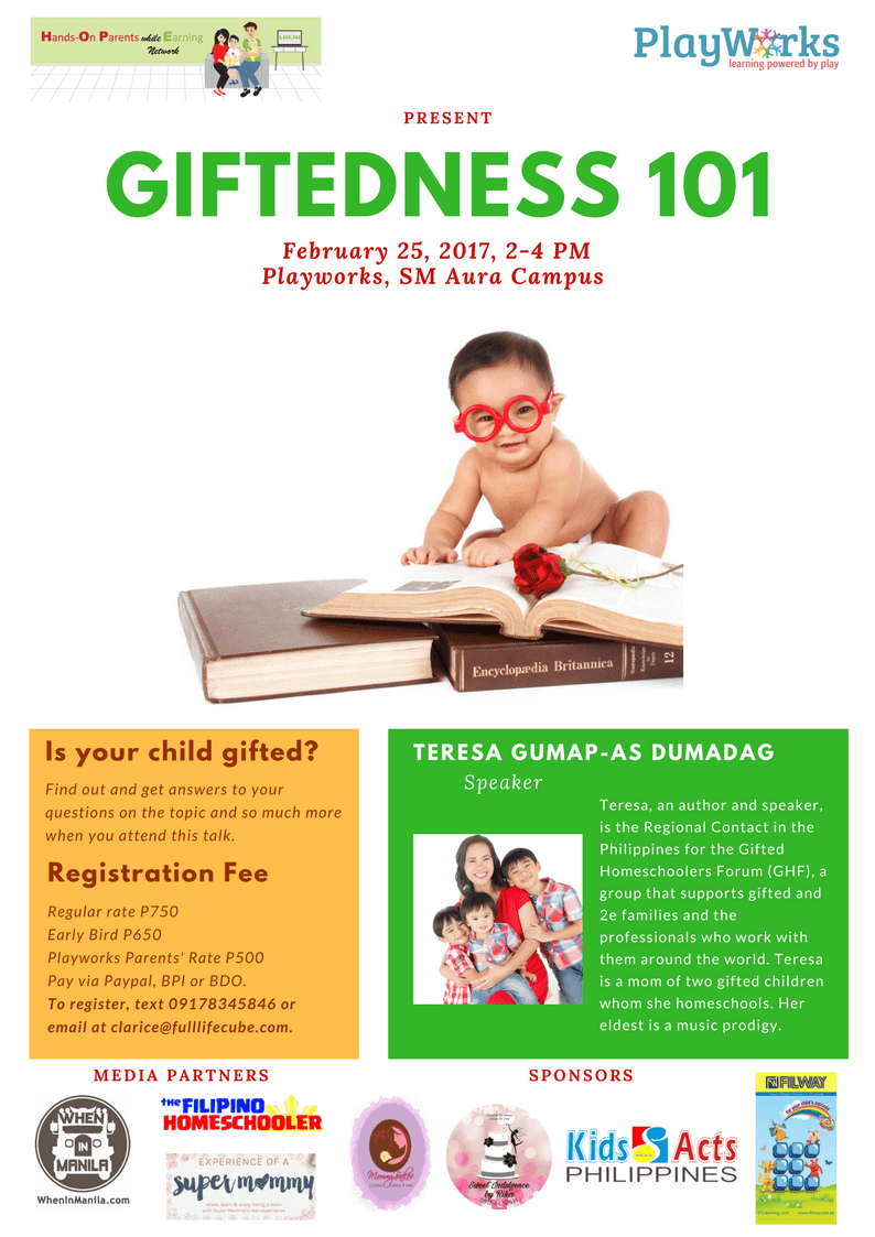 Giftedness101 talk