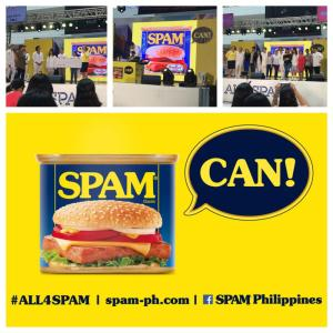 SPAM CAN: Discover SPAM Recipes and the ALL4SPAM