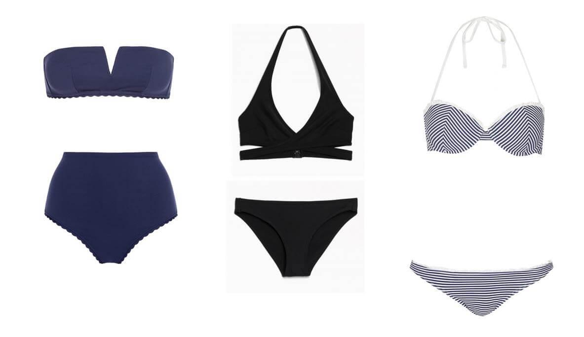 swimsuit-hourglass-body-shape, Best Swimsuit for Body Type
