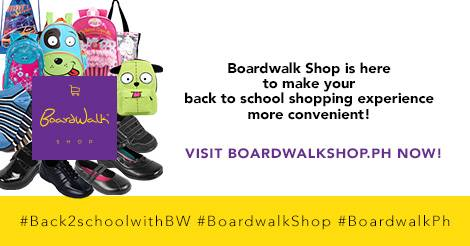 Boardwalk Back-to-school Promo