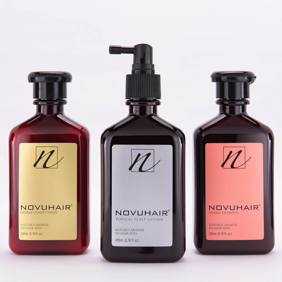 NOVUHAIR 3-in-1 pack