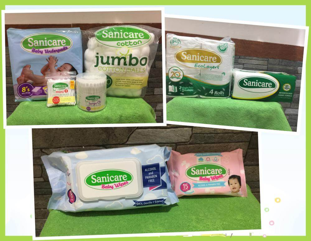 Sanicare Bathroom Tissue and other products