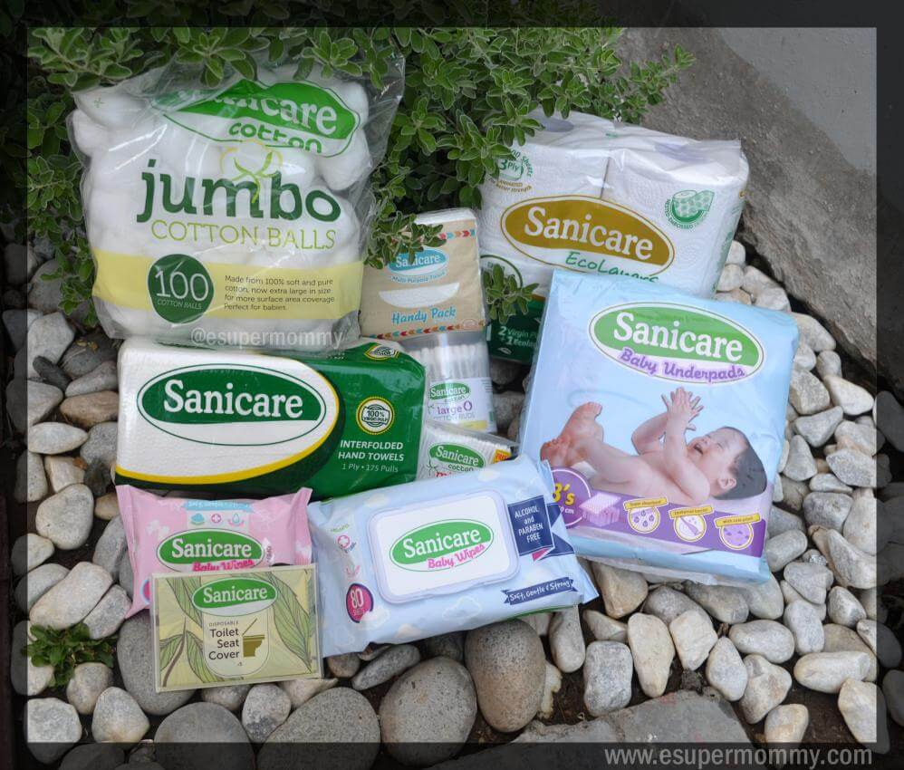 Sanicare Products Review and Tips for Proper Hygiene