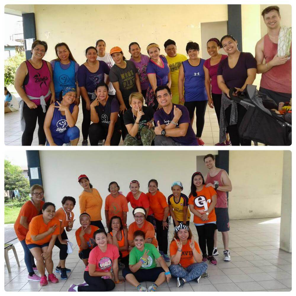 Zumba Fitness at VP4 clubhouse