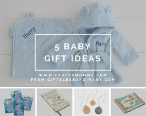 5 Gift Ideas for Baby