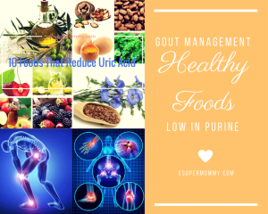 Gout Management: List of Healthy Foods Low in Purine