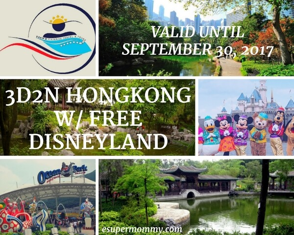 HONGKONG Disneyland Travel and Tour Package