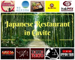 Japanese Restaurant in Cavite