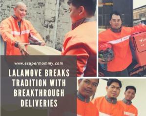 LalamoveDoor-to-door pick-up delivery App-based