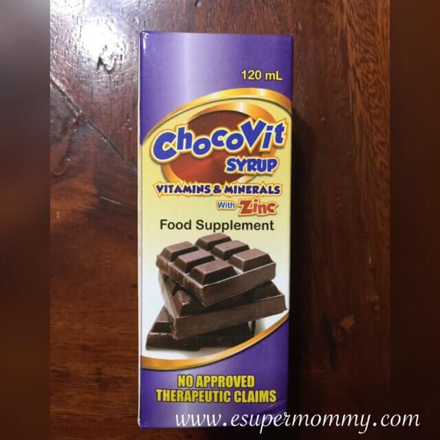 ChocoVit syrup vitamins for children