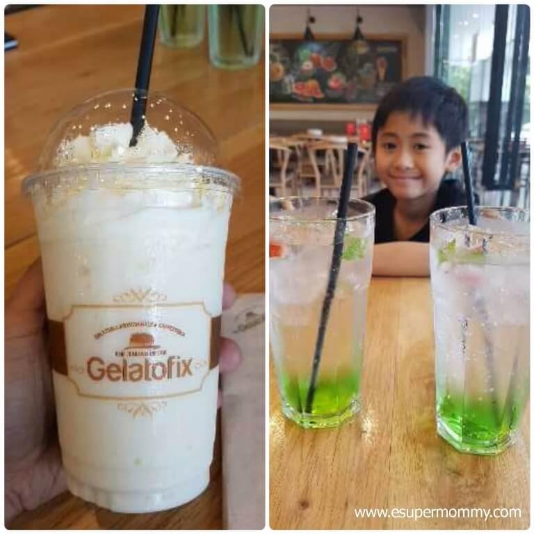 Gelatofix drinks