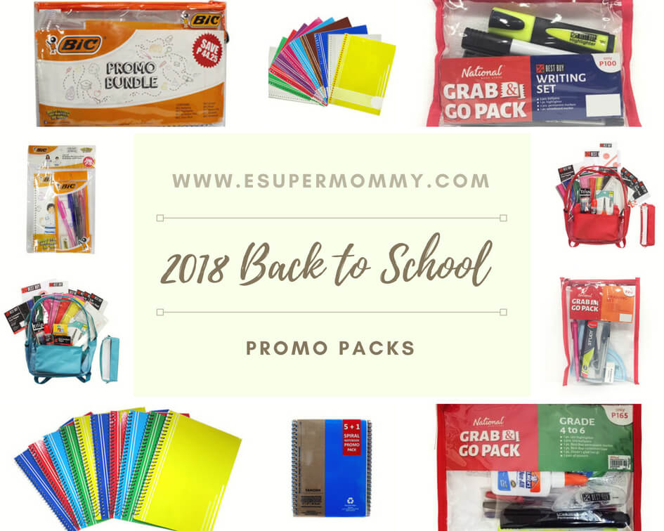 2018 Back to School Promo