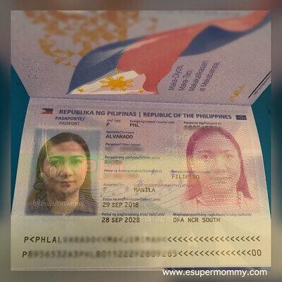 My DFA Philippine passport 2018