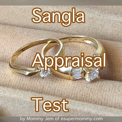 Sangla Appraisal Test if  Cebuana Lhuillier pawnshop with highest appraisal rate