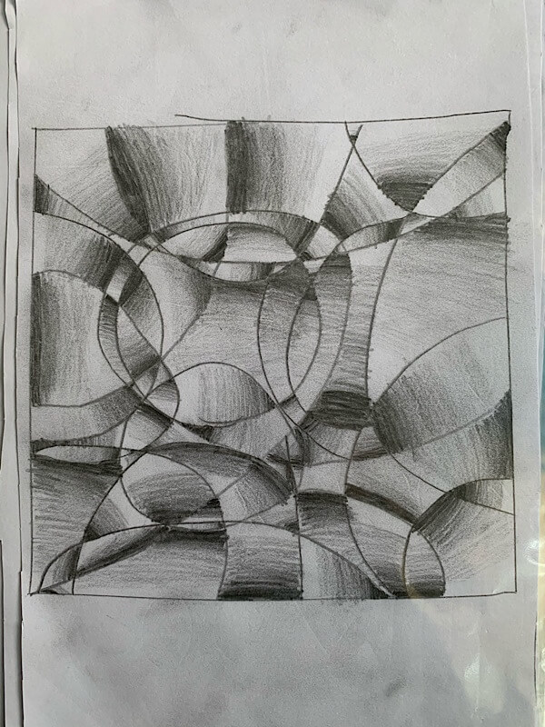 Art drawing by Jelvin
