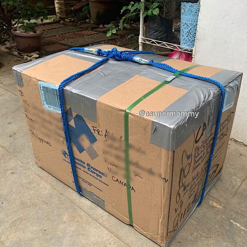 Manila cargo express box