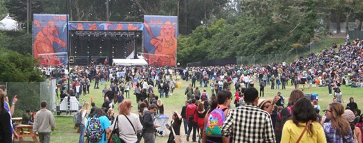 Fans at Outside Lands image