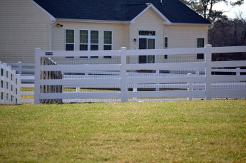 4-Rail Ranch Fence