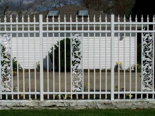 Custom Aluminum Fence