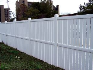 Imperial Vinyl Semi-Private Fence