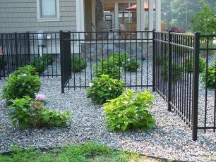 Style 300 Aluminum Fence