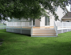 How to Finish Your Composite Deck with Safety and Style