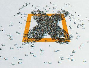 Logo campaña x solidaria