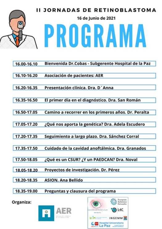 programa aer segunda jornada formativa