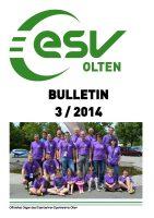 ESV Olten Bulletin 3/2014