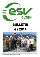 ESV Olten Bulletin 4/2014