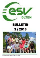 ESV Olten Bulletin 3/2015