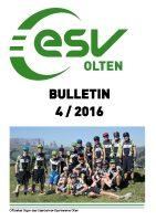 ESV Olten Bulletin 4/2016