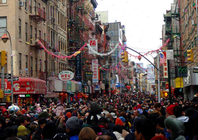 Chinese New Year Crowd