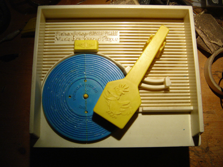 Modified Record Player Music Box