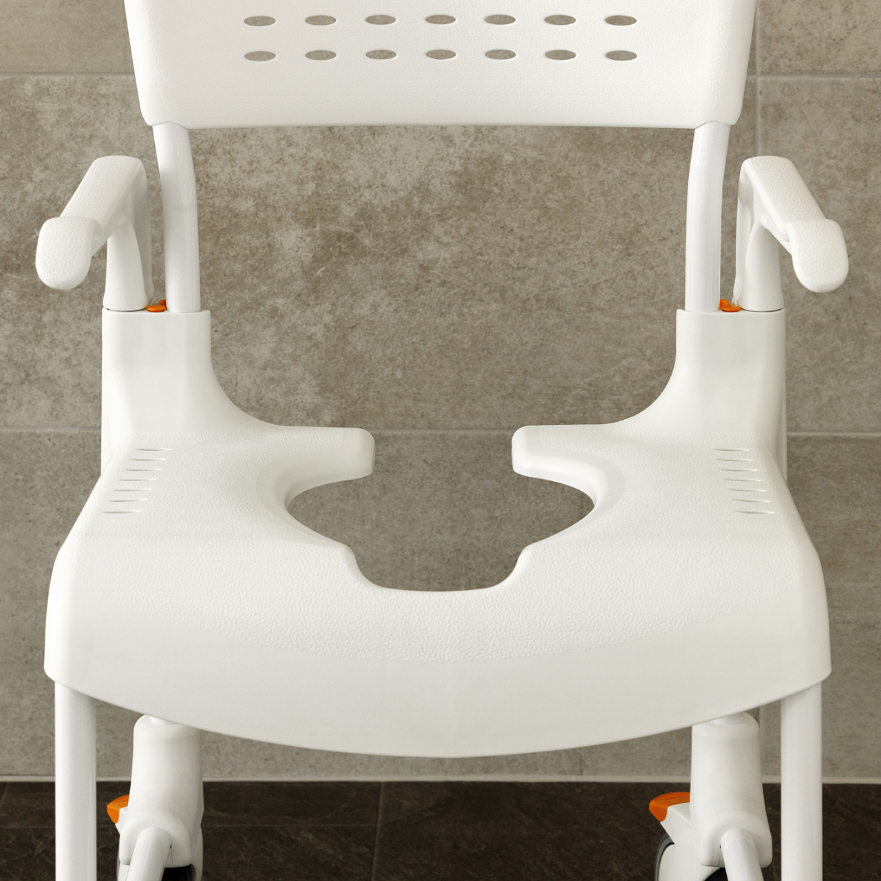 shower chair singapore antique white round table and chairs etac clean commode