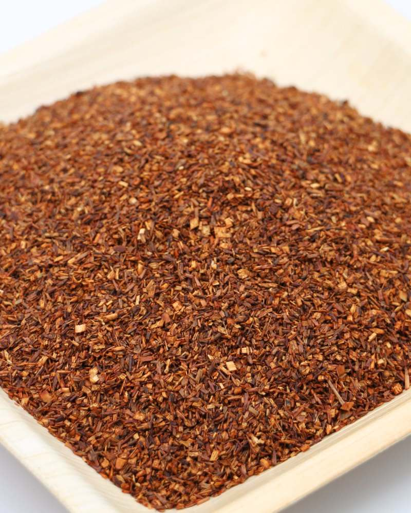 gros plan the rooibos vanille