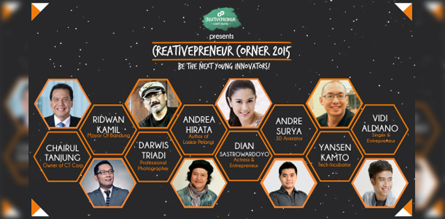 Speakers Creativepreneur Corner 2015