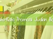 Promosi Baju
