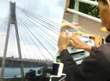 Bisnis Fotografi di Jembatan Barelang