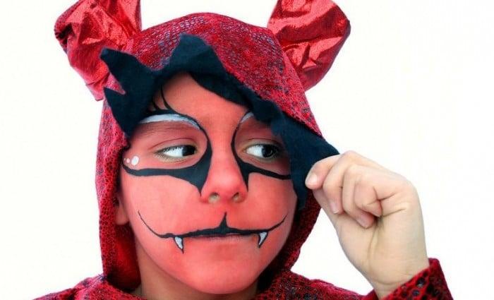 Maquillaje infantil para Halloween  Etapa Infantil