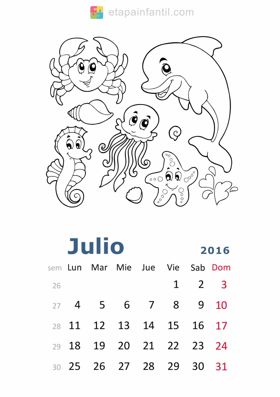 calendario mes de junio 2011 para colorear dibujos para