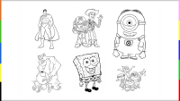 10 dibujos para imprimir y colorear - Etapa Infantil