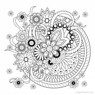 Mandalas para imprimir y colorear: Beneficios de los