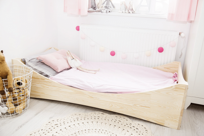 Por qu los nios deberan dormir en camas Montessori